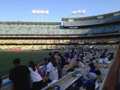 Dodger Stadium, section: 45FD, row: C, seat: 11