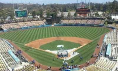 Dodger Stadium, section: 3TD, row: U, seat: 1
