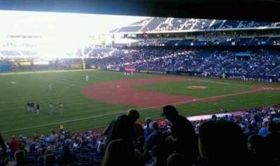 Kauffman Stadium, section: 214, row: Ss, seat: 2