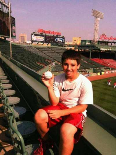 Fenway Park, section: monster