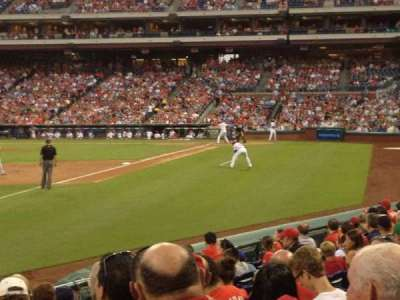 Citizens Bank Park, section: 138, row: 14, seat: 1