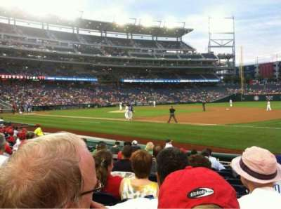 Nationals Park, section: 132, row: H, seat: 7