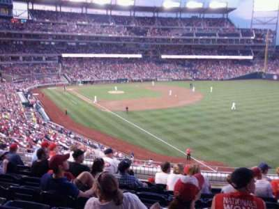 Nationals Park, section: 231, row: h, seat: 11