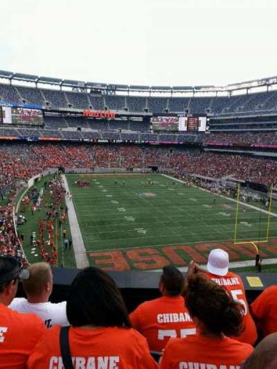 MetLife Stadium, section: 204, row: 4, seat: 11
