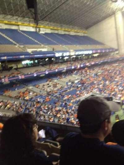 Alamodome, section: 216, row: 4, seat: 3