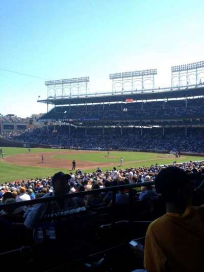 Wrigley Field, section: 206, row: 3, seat: 10
