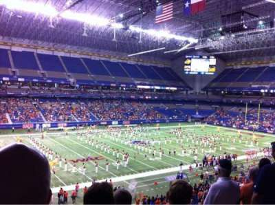 Alamodome section 216