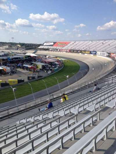 Dover International Speedway, section: 219, row: 12, seat: 9