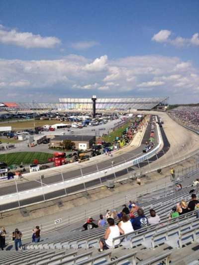 Dover International Speedway, section: 124, row: 22, seat: 7