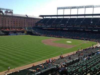 Oriole Park at Camden Yards section 268