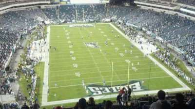 Lincoln Financial Field section 233
