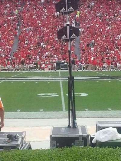 Sanford Stadium section 107