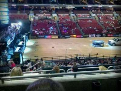 Wells Fargo Center, section: Club Box 24, row: 3, seat: 4