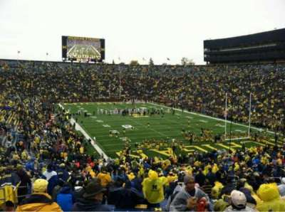 Michigan Stadium section 37