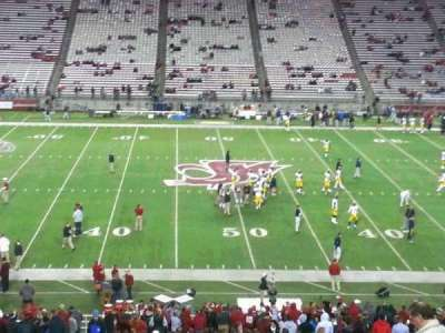 Martin Stadium, section: 26, row: 27, seat: 9