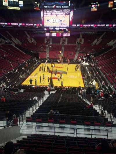 Moda Center, section: 208, row: N, seat: 11