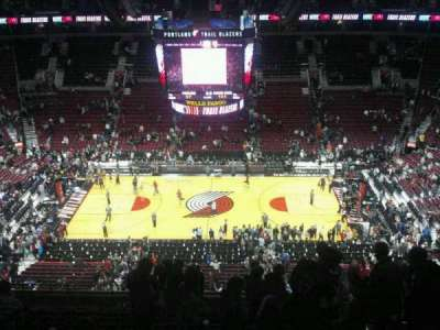 Moda Center, section: 318, row: m, seat: 5