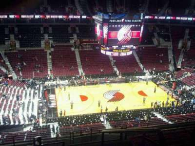 Moda Center, section: 320, row: L, seat: 1