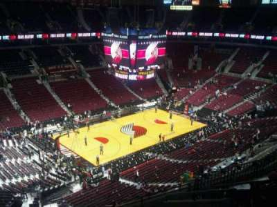 Moda Center, section: 322, row: K, seat: 3