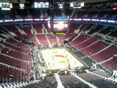 Moda Center, section: 328, row: H, seat: 8