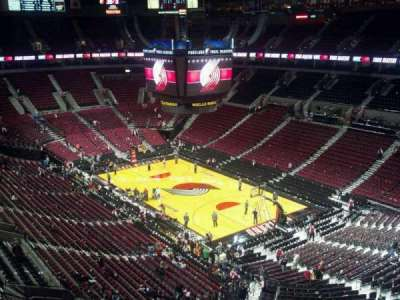 Moda Center, section: 330, row: G, seat: 9