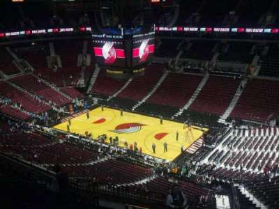 Moda Center, section: 332, row: N, seat: 3