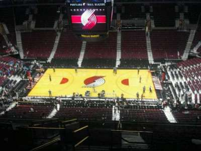 Moda Center, section: 334, row: O, seat: 16