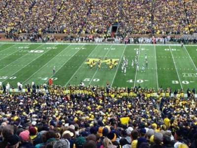 Michigan Stadium section 22