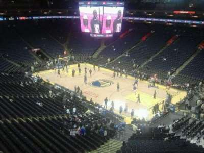 Oracle Arena, section: 228, row: 2, seat: 1