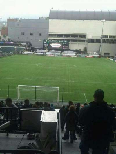 Providence Park, section: 207, row: a, seat: 3