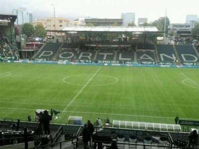 Providence Park, section: 219, row: m, seat: 7