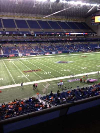 Alamodome, section: 215, row: 2, seat: 13