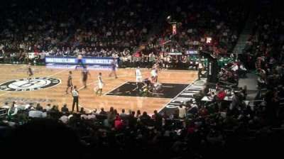 Barclays Center, section: 121, row: 5, seat: 12