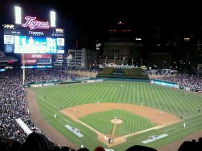Comerica Park section 327