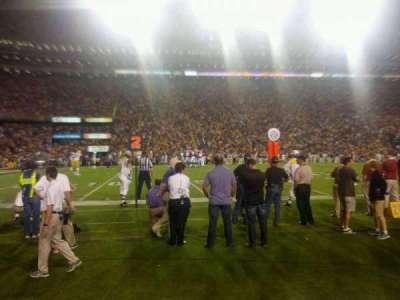 Tiger Stadium, section: 305, row: 1, seat: 20