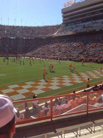 Neyland Stadium, section: Z11, row: 6, seat: 14