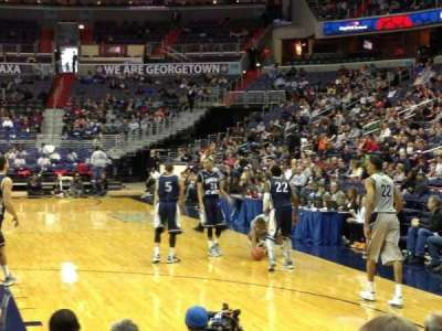 Verizon Center, section: 105, row: Student, seat: Section