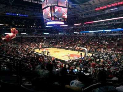 United Center section 119