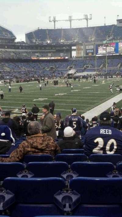 M&T Bank Stadium, section: 136, row: 16, seat: 9