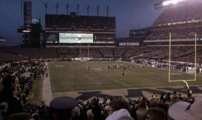 Lincoln Financial Field, section: 109, row: 34, seat: 14