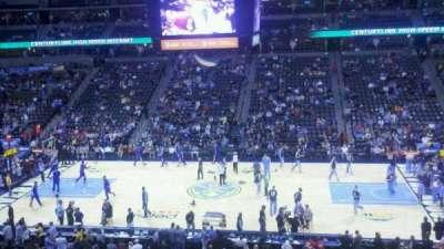 Pepsi Center, section: 260, row: 2, seat: 7