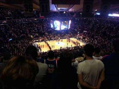 Madison Square Garden, section: 209, row: 23, seat: 15