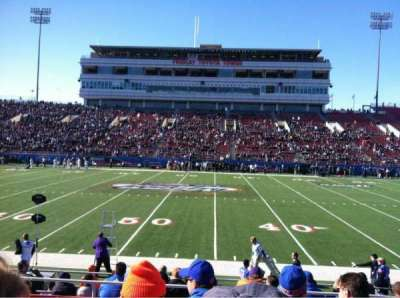 Sam Boyd Stadium section 107