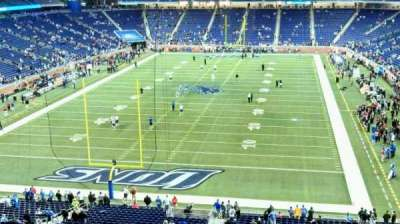 Ford Field, section: 319, row: 1, seat: 17