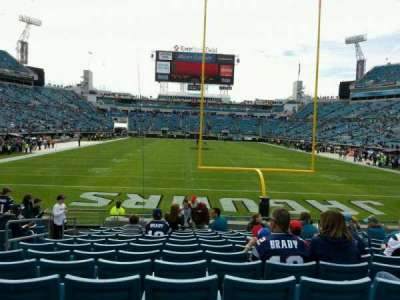 EverBank Field section 123