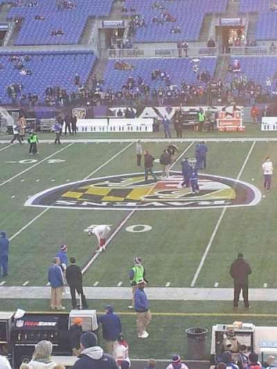 M&T Bank Stadium section 152