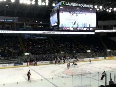 Webster Bank Arena, section: 107