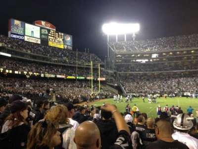 Oakland Alameda Coliseum section 121