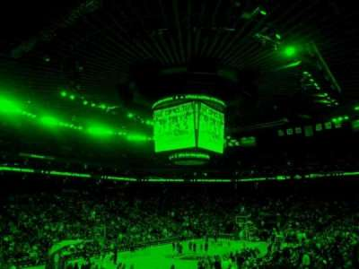 Oracle Arena, section: 105, row: 18, seat: 9