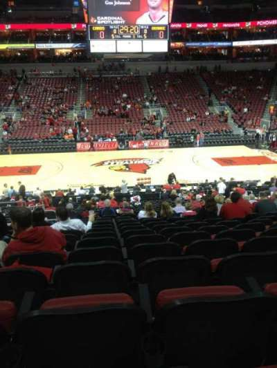 KFC Yum! Center section 116